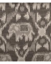 Grey Jungle Safari Fabric  Maharani 190103H 778