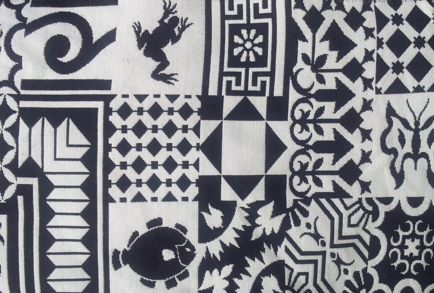 South Africa Squares Fabric
