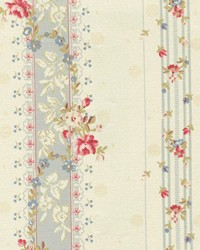 Beige Small Print Floral Fabric  WA 3031 Antique