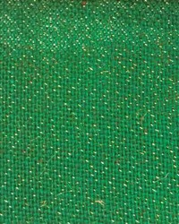 Burlap Sultana Green Sparkle by