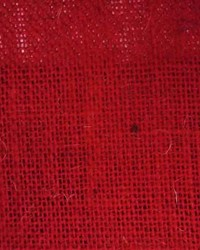 Burlap Sultana Red by