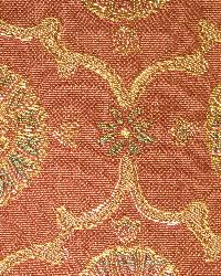 Red Floral Diamond Fabric  Amesbury Trellis Brick