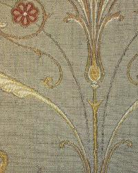 Beige Floral Diamond Fabric  Aubusson Biscotti
