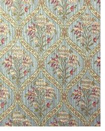 Blue Small Print Floral Fabric  Bargrove Copen