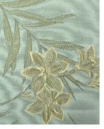 Blue Small Print Floral Fabric  Beresford Azul