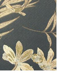 Beige Small Print Floral Fabric  Beresford Ebony