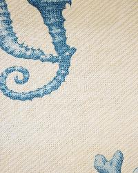 Beige Marine Life Fabric  Bluewater Beach Blue Sand