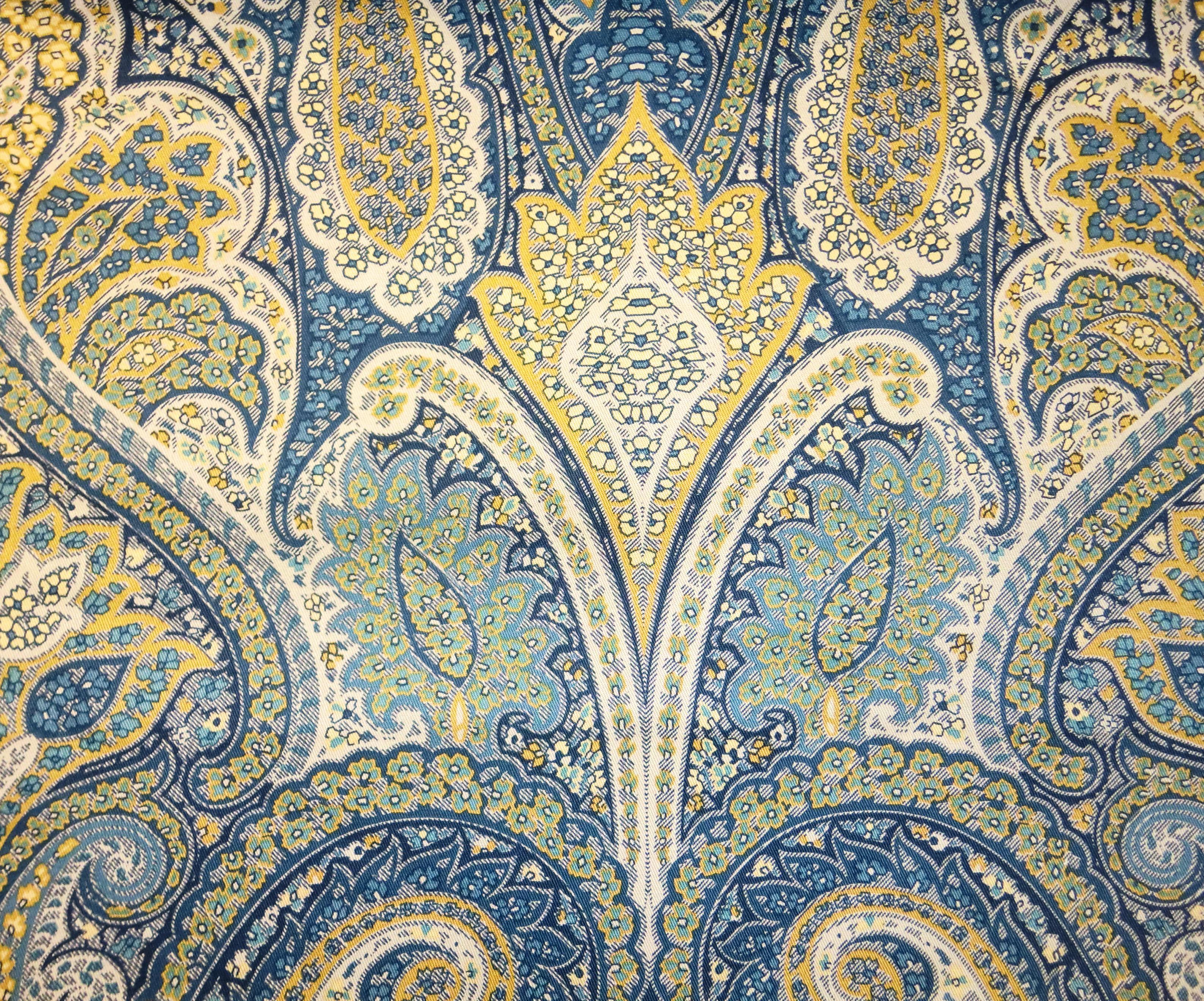 Kasmir Fabrics Cheverny Sapphire - InteriorDecorating.com