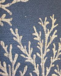 Blue Marine Life Fabric  Coral Bay Blue