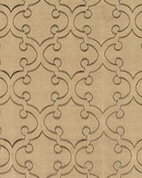 Curlique Chestnut by  World Wide Fabric, Inc.