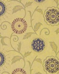 Yellow Small Print Floral Fabric  Highland Park Golden