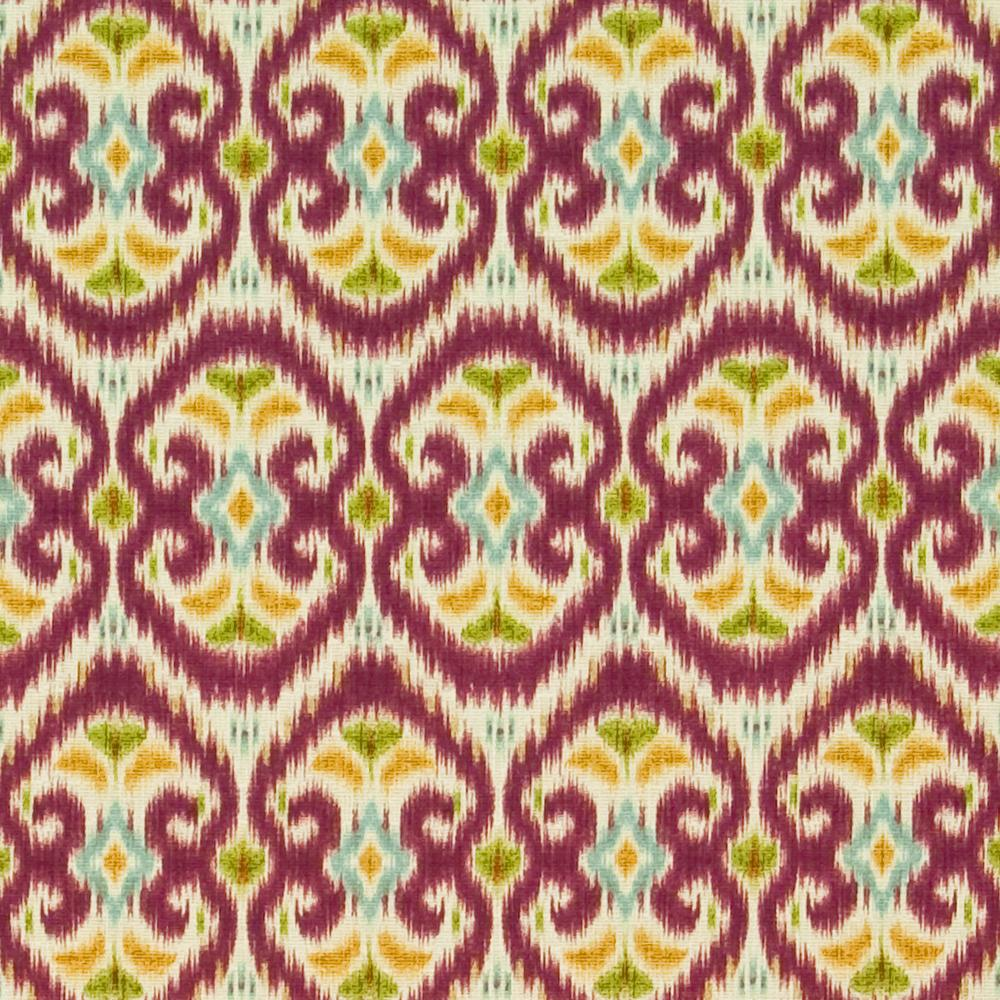 Kasmir Fabrics Java Joy Radicchio - InteriorDecorating.com