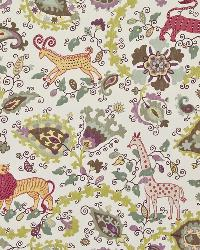 Multi Jungle Safari Fabric  Jinga Jungle Cherry Blossom