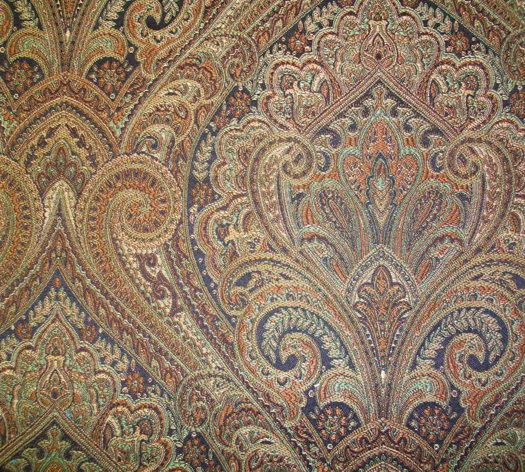 Kasmir Fabrics Kentshire Mahogany - InteriorDecorating.com