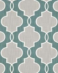 Loring Trellis Teal by
