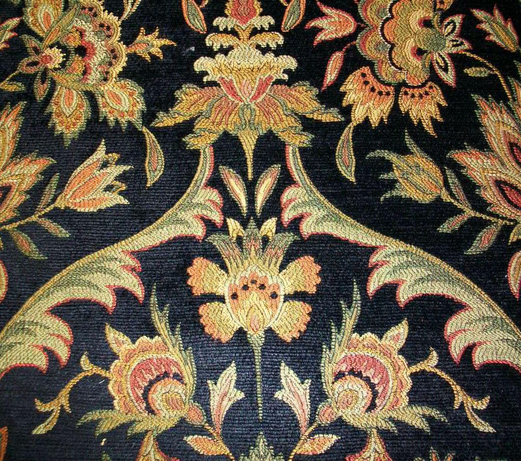 Kasmir Fabrics Marbella Ebony - InteriorDecorating.com
