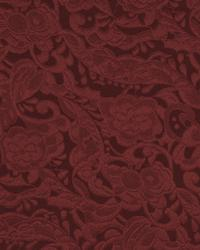 Red Quilted Matelasse Fabric  Quilted Garden Wine