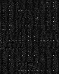 Black Quilted Matelasse Fabric  Quinlan Quilt Blackout