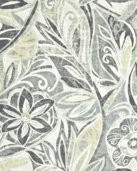 Tradewind Floral Graphite by