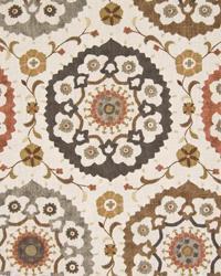 Tudor Rose Linen Spice by