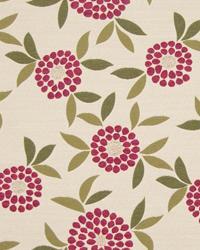 Vera Floral Raspberry by