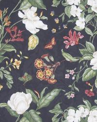 Vicksburg Floral Black by  In Stock