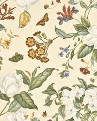 Vicksburg Floral Parchment by  In Stock