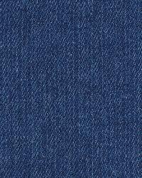 Blue Solid Color Denim Fabric  Wrangler Indigo