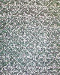 Blue Fleur de Lis Fabric  Avondale Slate