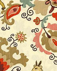 Orange Jungle Safari Fabric  Casablanca Spice