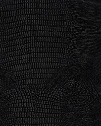 Black Animal Skin Fabric  La Grange Noir