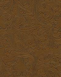 Beige Medium Print Floral Fabric  Lukenbach Caramel