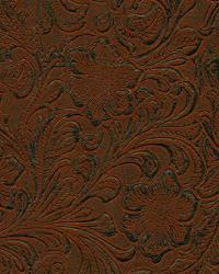 Brown Medium Print Floral Fabric  Lukenbach Rustic