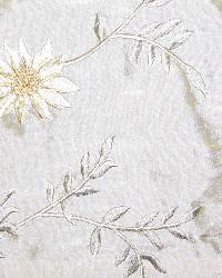 Medium Print Floral Fabric  Pasha Sand