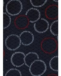 Black Circles and Swirls Fabric  ST8254 02 Black