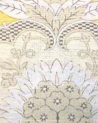 Yellow Medium Print Floral Fabric  Ranada Maize