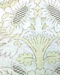 Beige Medium Print Floral Fabric  Ranada Parchment