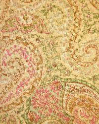 Yellow Classic Paisley Fabric  LA1285 401