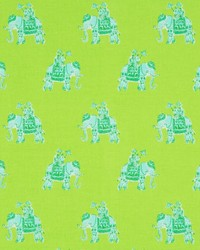 Green Jungle Safari Fabric  Bazaar Lush Green