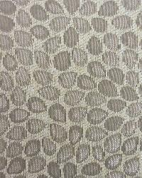 Gray Modern Floral Designs Fabric  Franklin Chrome