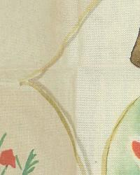 Multi Oriental Fabric  Mencha Garden