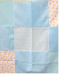 Build A Quilt Neutral Squares Quilt Top Panel Build-A-Quilt In Stock