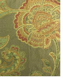 Brown Large Print Floral Fabric  M8000 5394