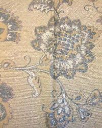 Blue Medium Print Floral Fabric  M8518 5345