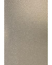 Animal Skin Fabric  Slicker Chrome