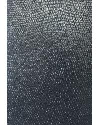 Grey Animal Skin Fabric  Slicker Midnight