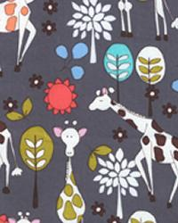 Giraffe Garden Gray by