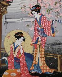 Graceful Geisha Black by