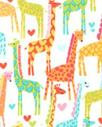 Giraffe Love White by