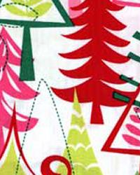 Michael Miller Fabrics Yule Trees Flannel Fabric